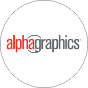 Logotipo Alphagraphics